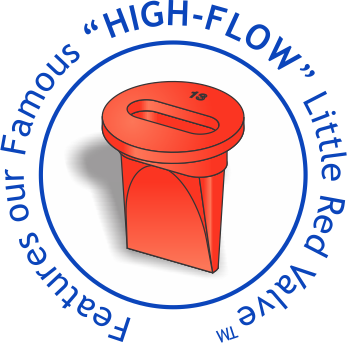 """High-Flow"" Anti-Reflux Valve"